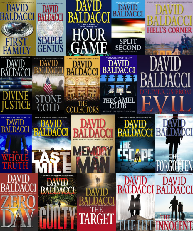 David Baldacci Event Ticket