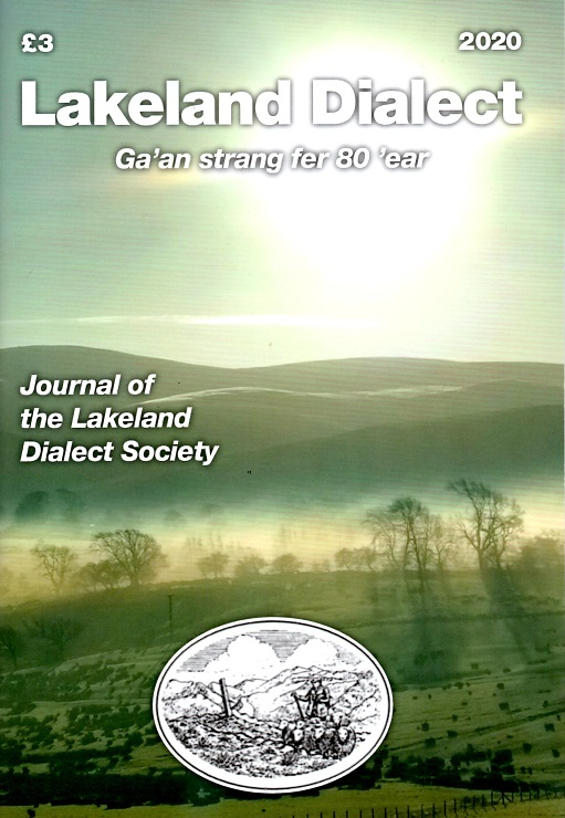 Lakeland Dialect Journal 2020