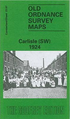 Old Ordnance Survey Maps - Carlisle (SW) 1924