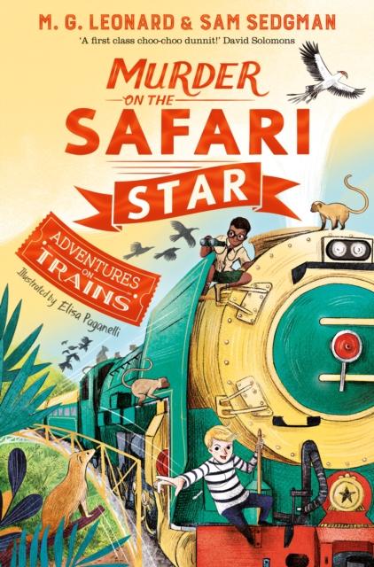 **SIGNED EDITION** Murder On The Safari Star