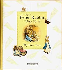 My First Year : Peter Rabbit Baby Book