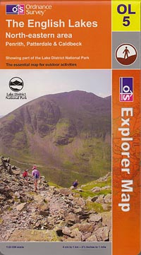 Explorer OL5: The English Lakes - North-eastern area