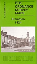 Old Ordnance Survey Maps of Cumberland: Brampton 1924