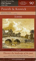 Penrith & Keswick Old Series Map 90